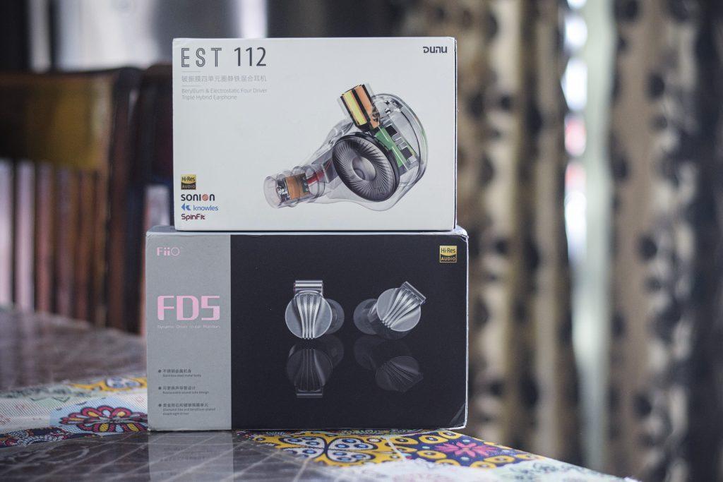 DUNU EST112 Vs FiiO FD5-2